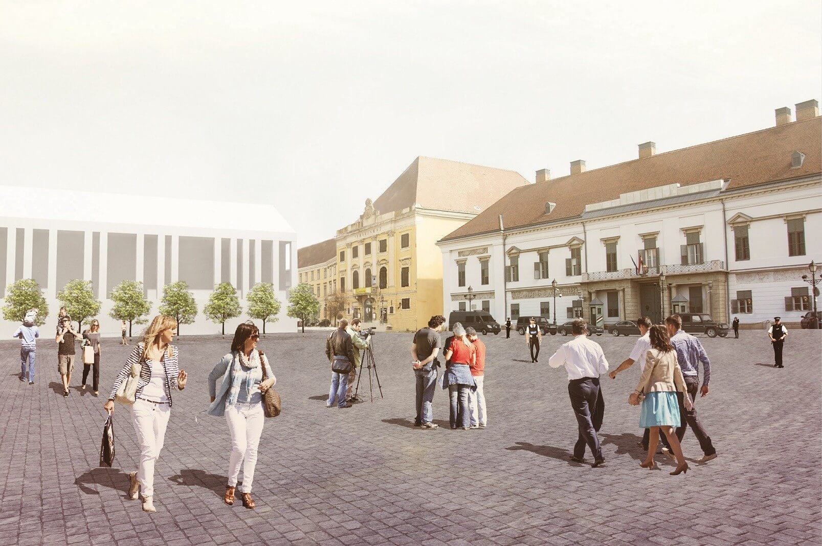 Így újulhat meg a Budai vár két meghatározó területe