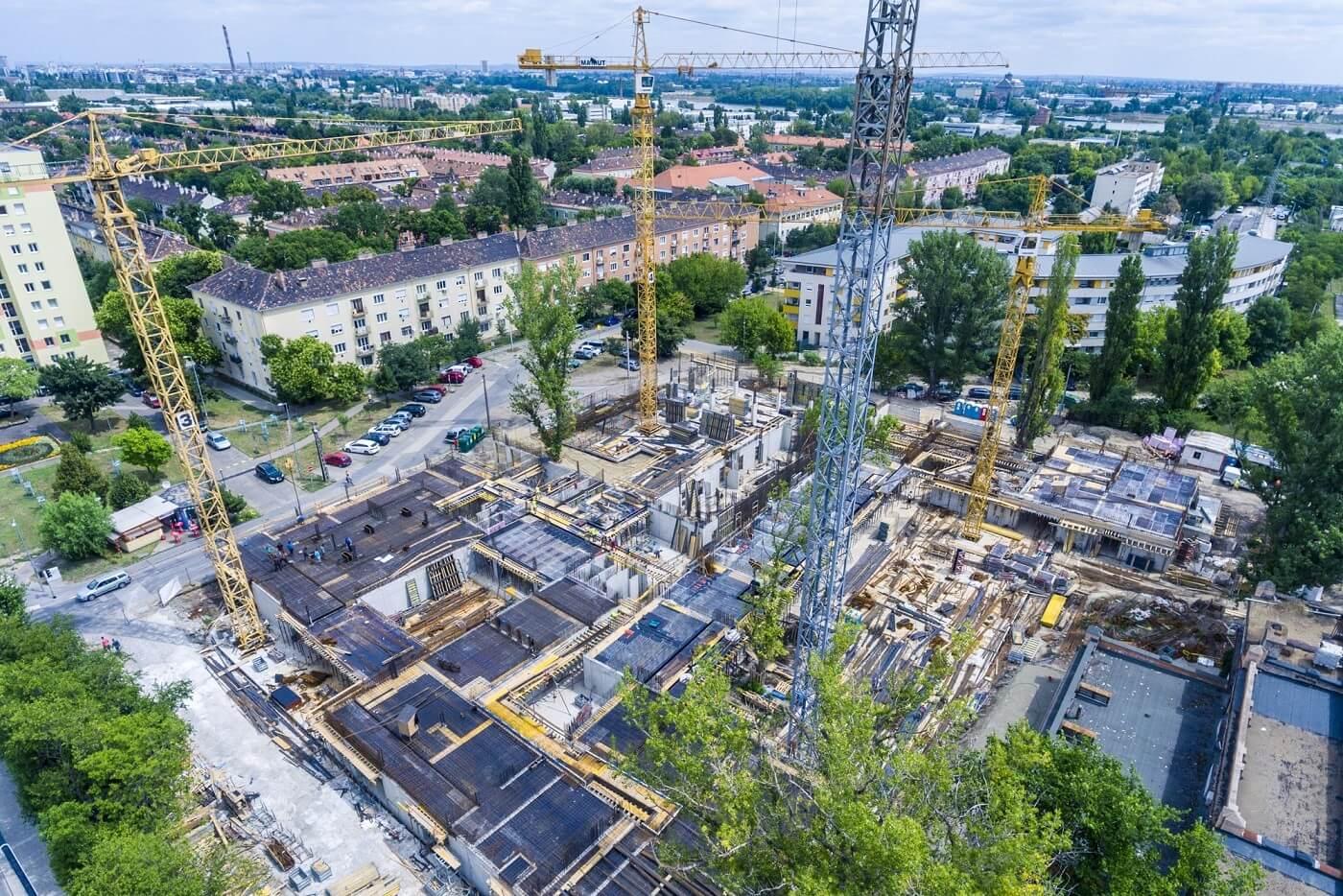 Több száz lakó költözhet rövidesen az újbudai Tetris Házba