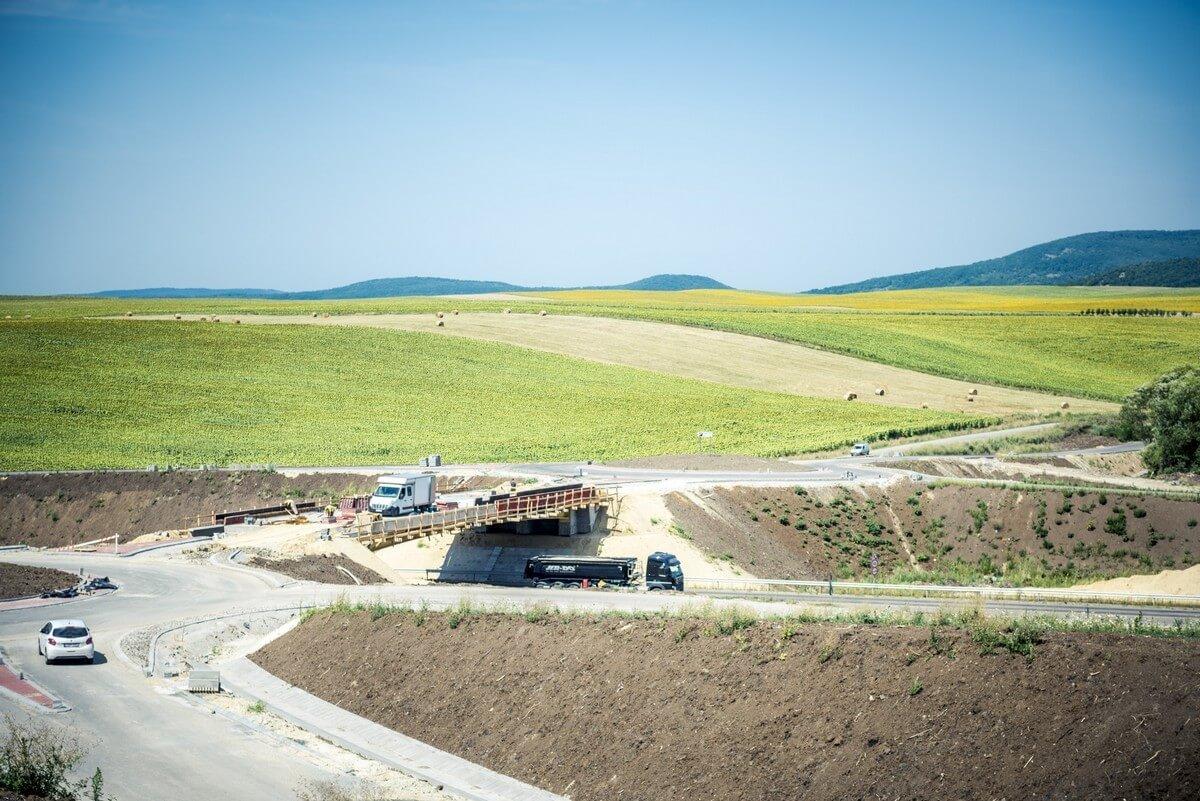 A Euroaszfalt és a Colas építi az M70-est Letenye és a szlovén határ között