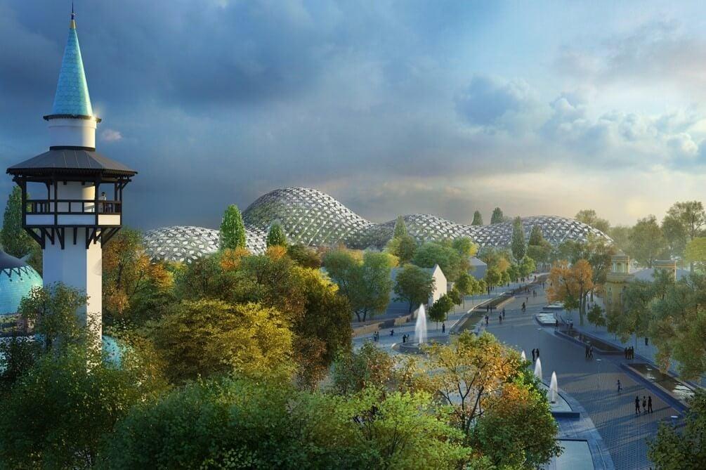 A Market építi a pannon ősvadont megidéző parkot