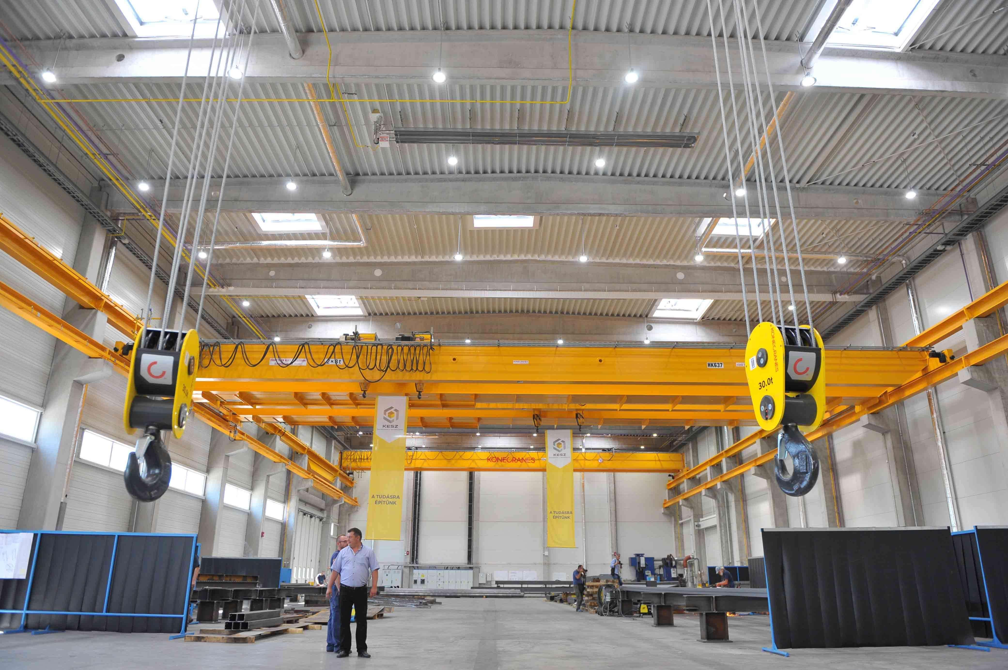 Csarnoképítéssel válaszolt a keresletnövekedésre a magyar acélszerkezetgyártó