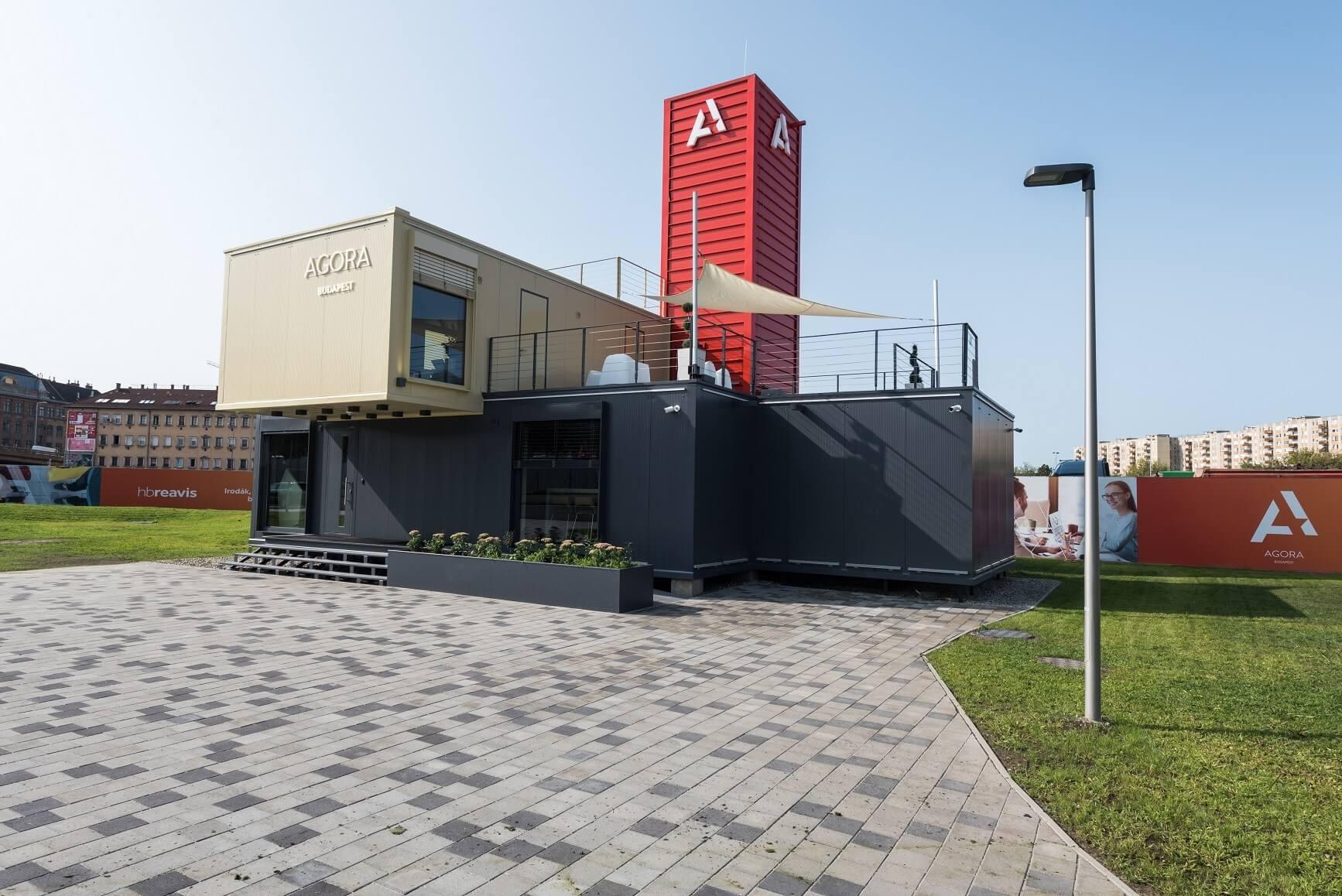 Ötezer négyzetméteres parkot létesített a HB Reavis az Árpád hídnál
