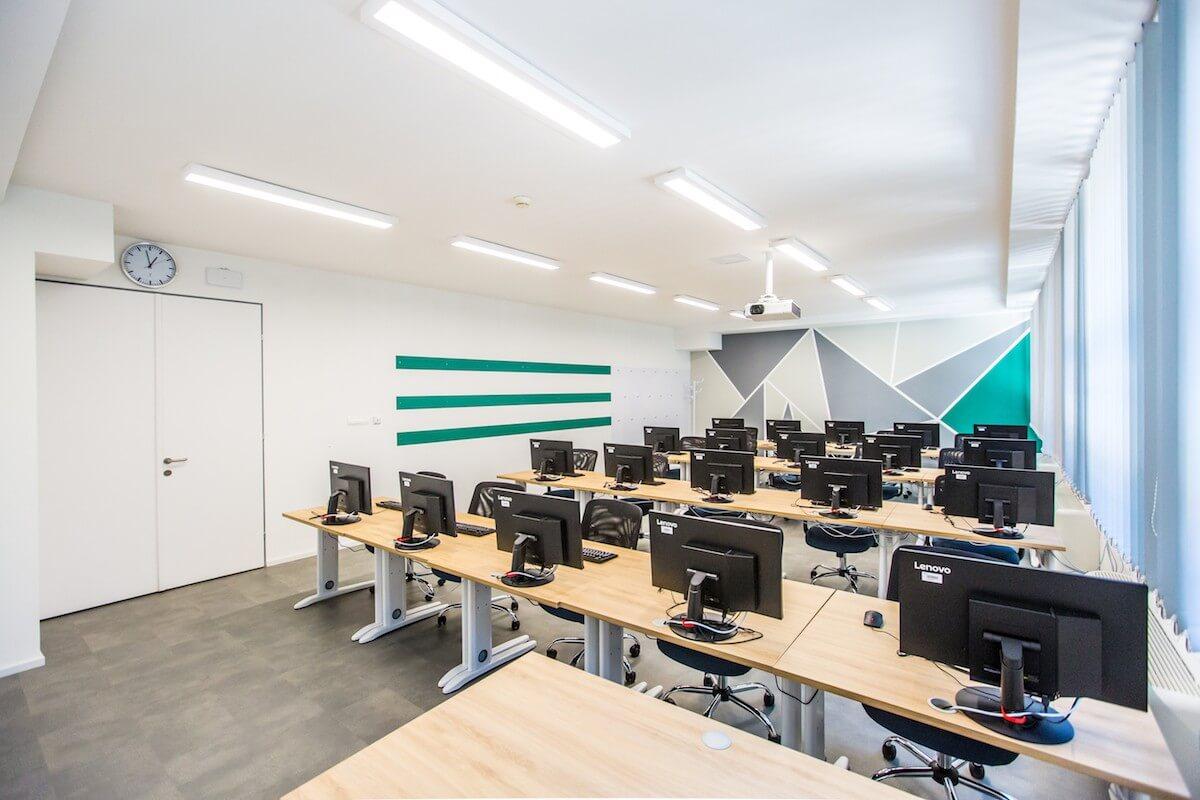 Oktatási központot épített a Telekom a készülő új székház mellé