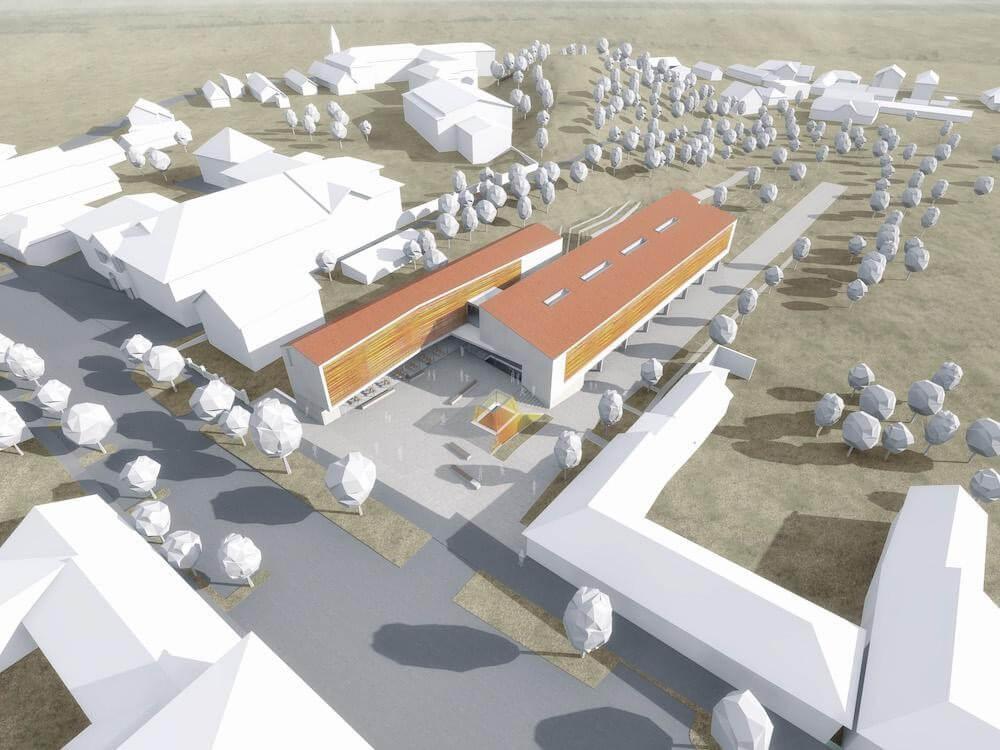 Az Épkar és a Zeron építik az új törökbálinti városházát