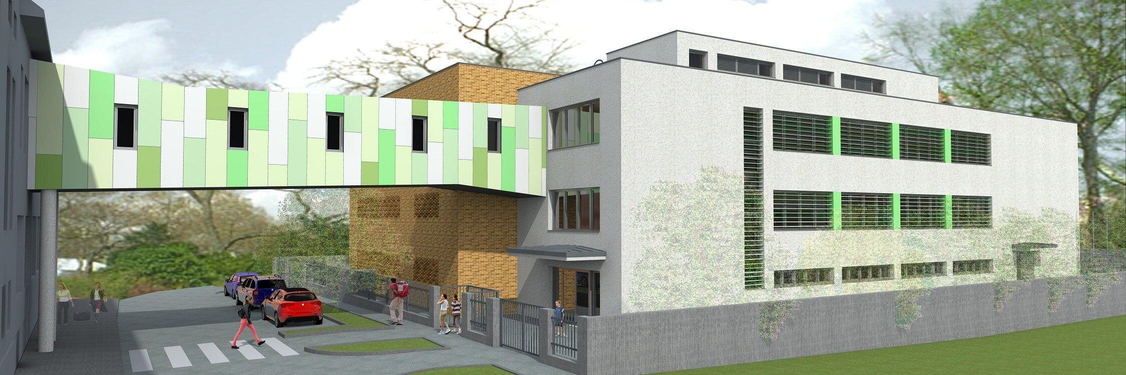 Új szárnnyal bővül az érdi Marianum iskola