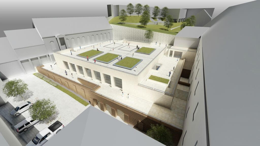 1,3 milliárd forintból bővül és újul meg egy 270 éves pécsi iskola
