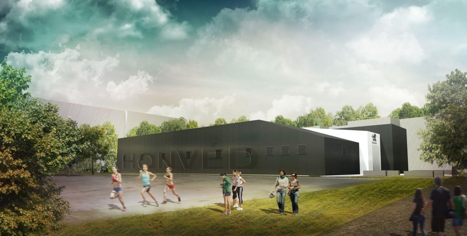Új vívócsarnokot kap a Budapesti Honvéd Sportegyesület
