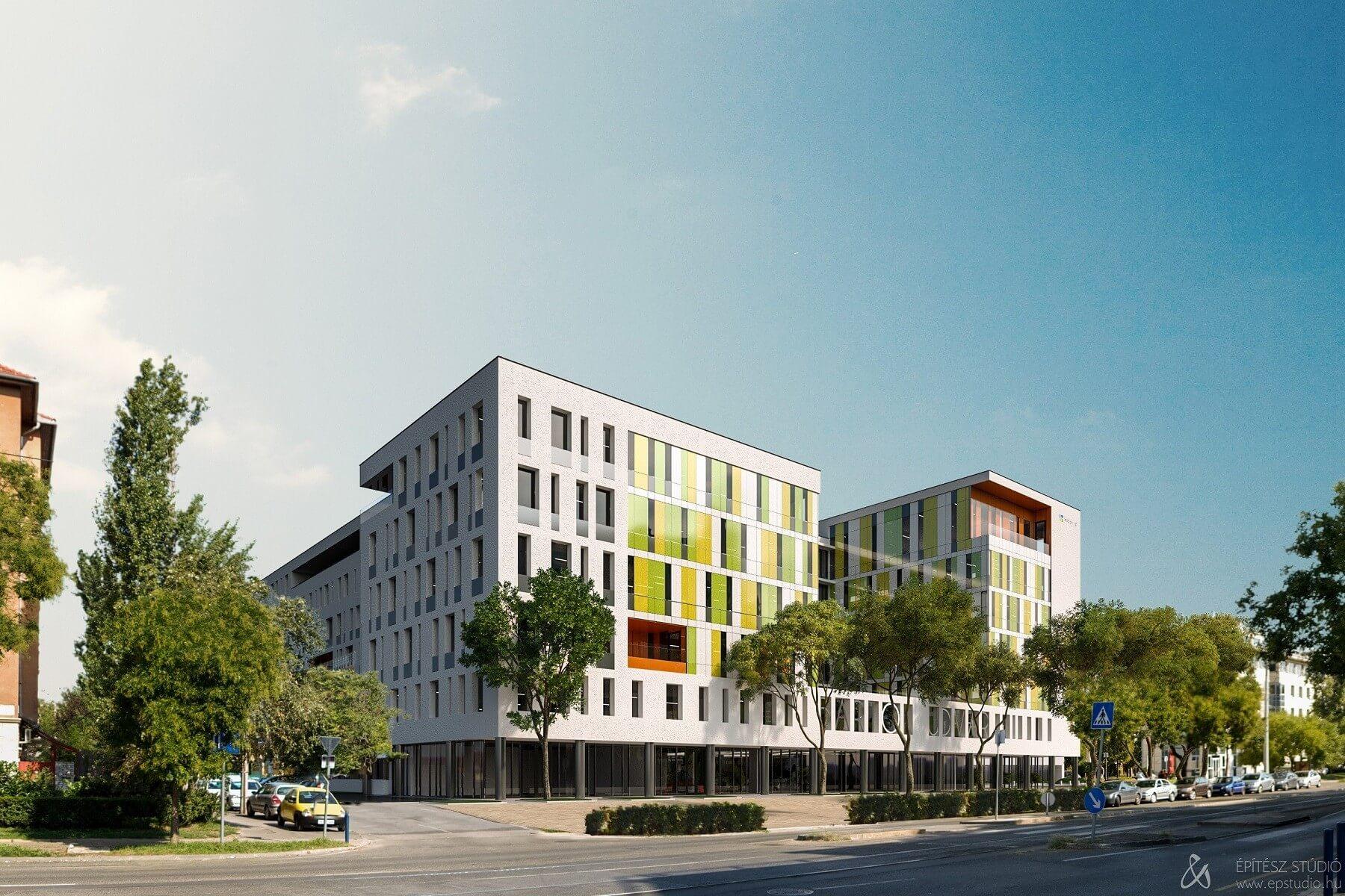 Újabb irodaház modernizálja Kelenföld látképét