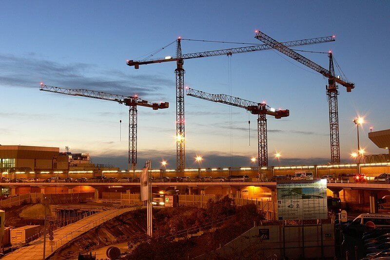 Nyáron 4 ezer fővel emelkedett az építőiparban dolgozók száma