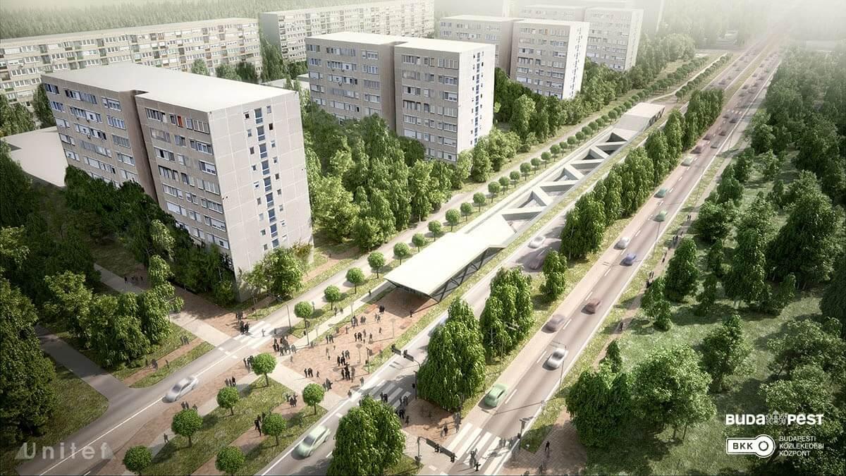 Ez a hat közlekedési nagyberuházás kapott zöld lámpát Budapesten