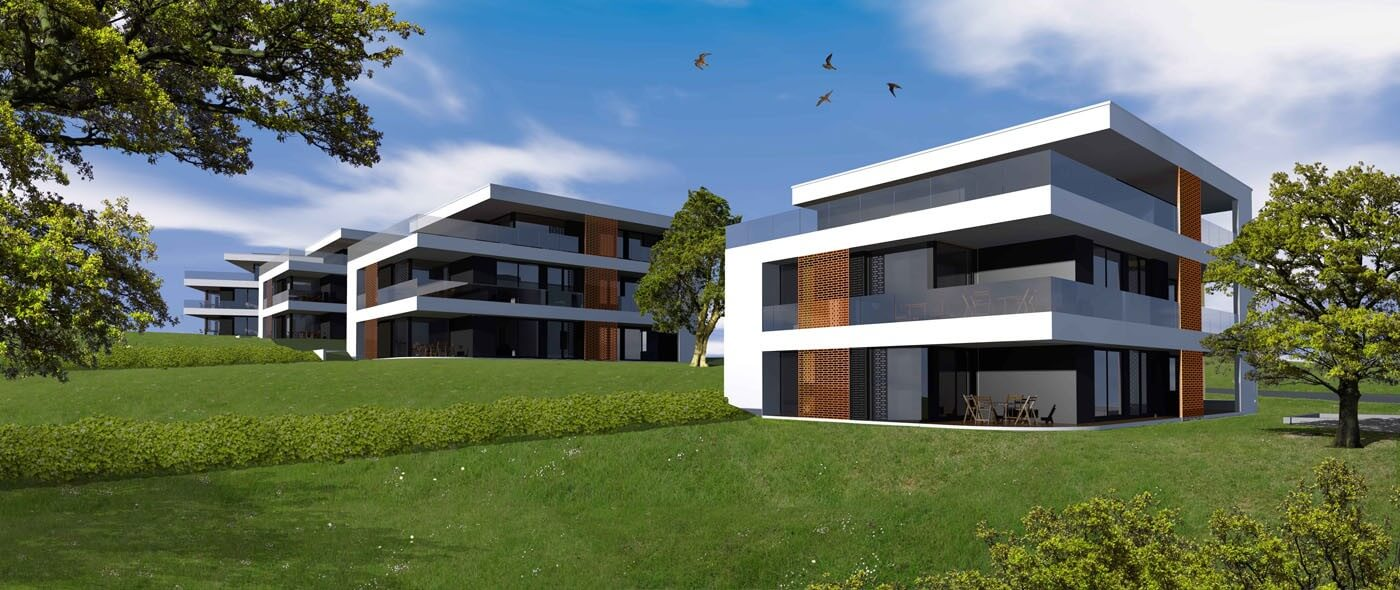 Tizenhat épületből álló exkluzív lakópark épül Óbudán