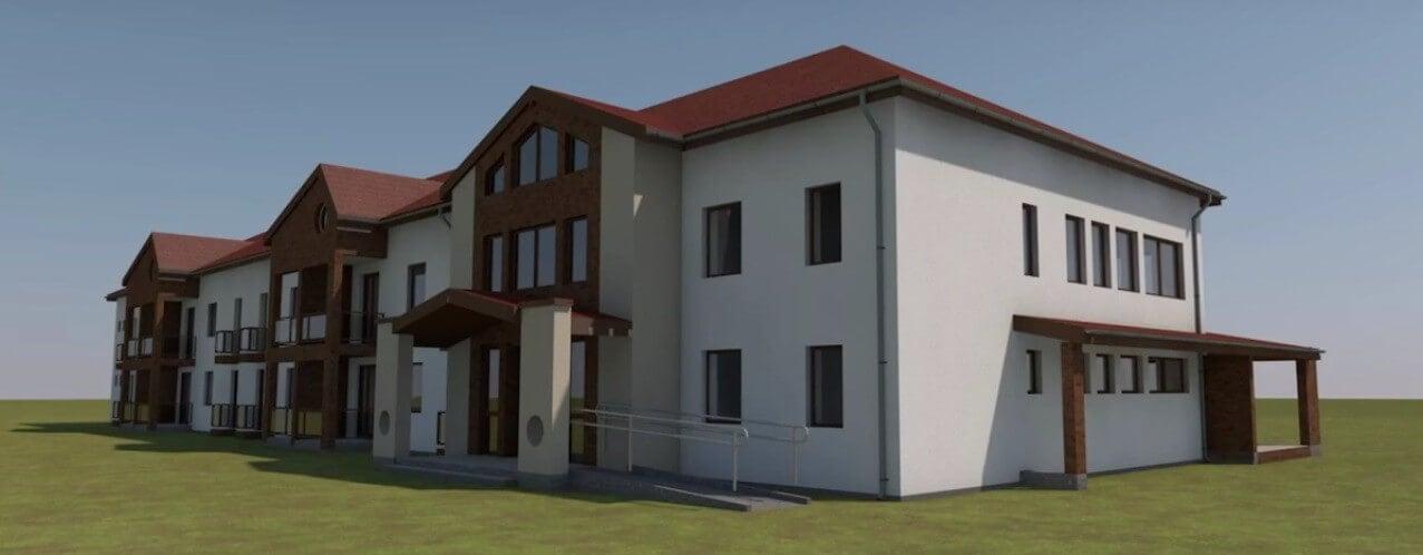 Mórahalmon indult el a munkásszálló építő program
