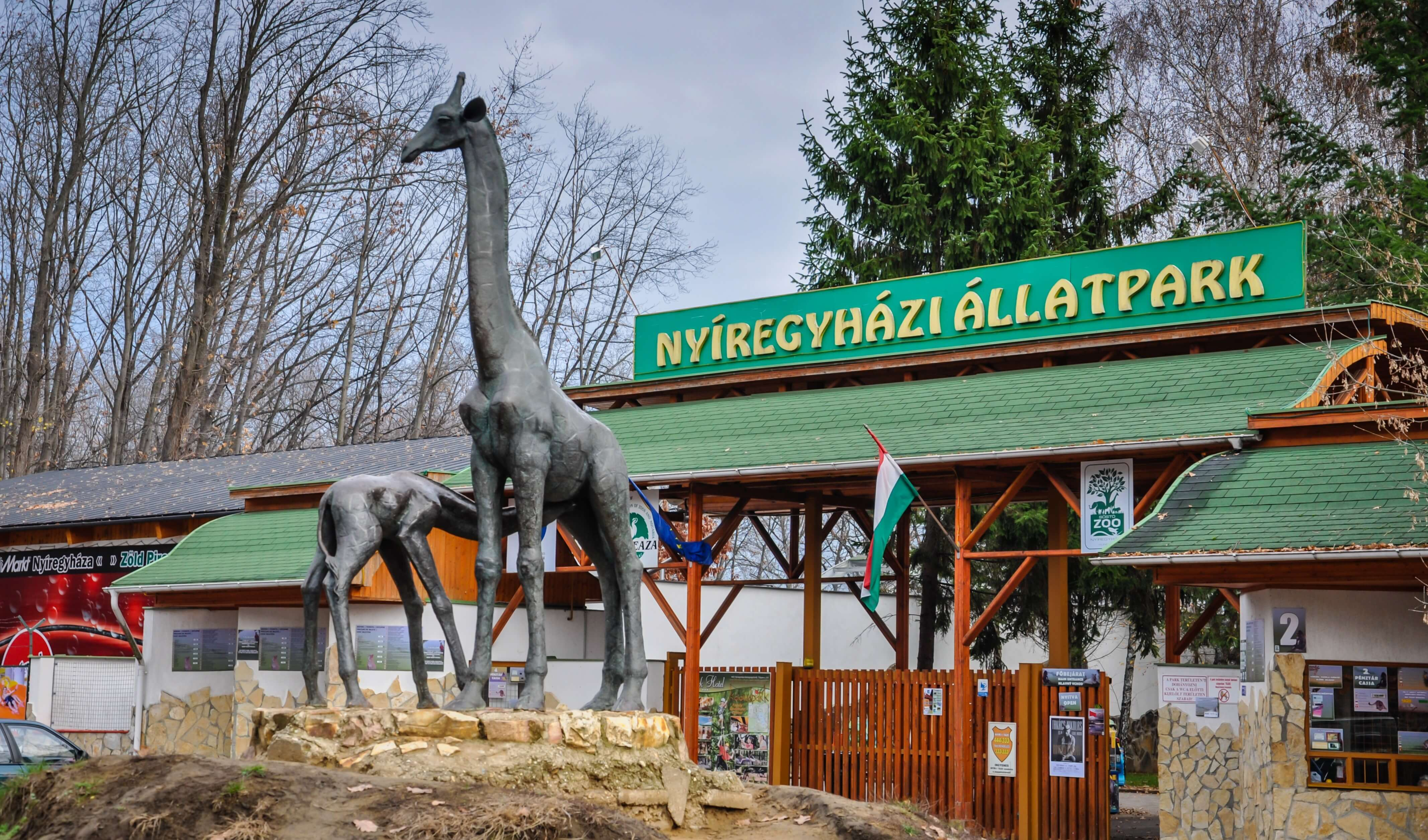 Hópárduckifutót és látogatóközpontot épít a Nyíregyházi Állatparkban a Ke-Víz