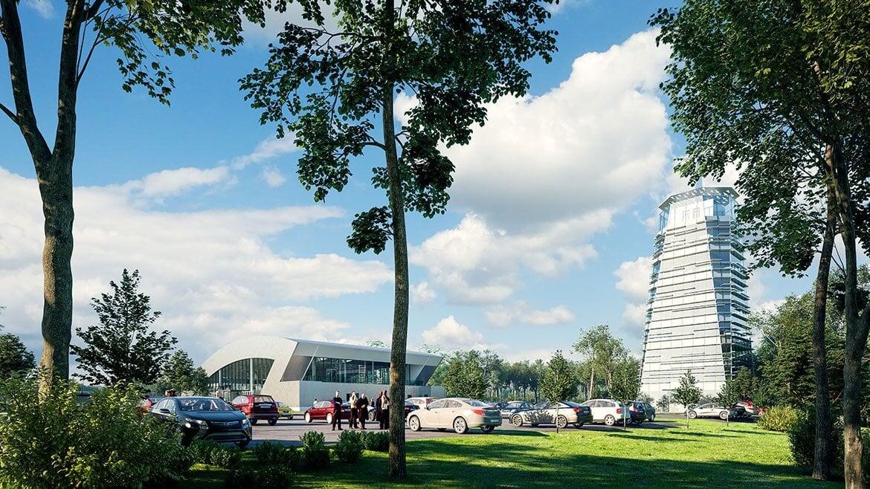 A ZÁÉV építi a zalai tesztpálya főépületét