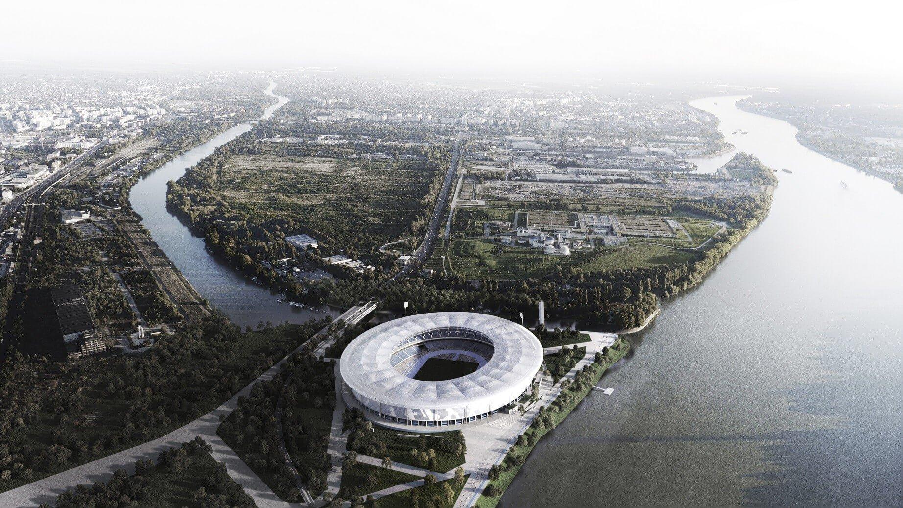 Így fog kinézni a Budapesti Atlétikai Stadion