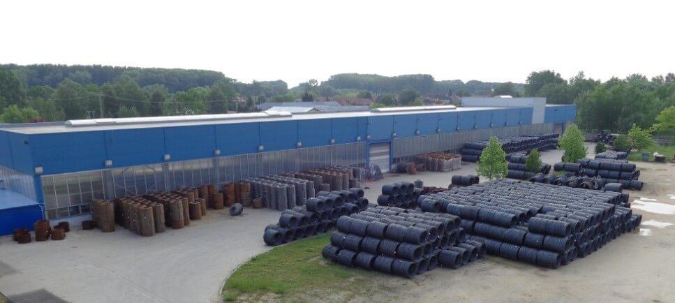 Raktárcsarnokkal bővít Dabason egy építőipari gyártó