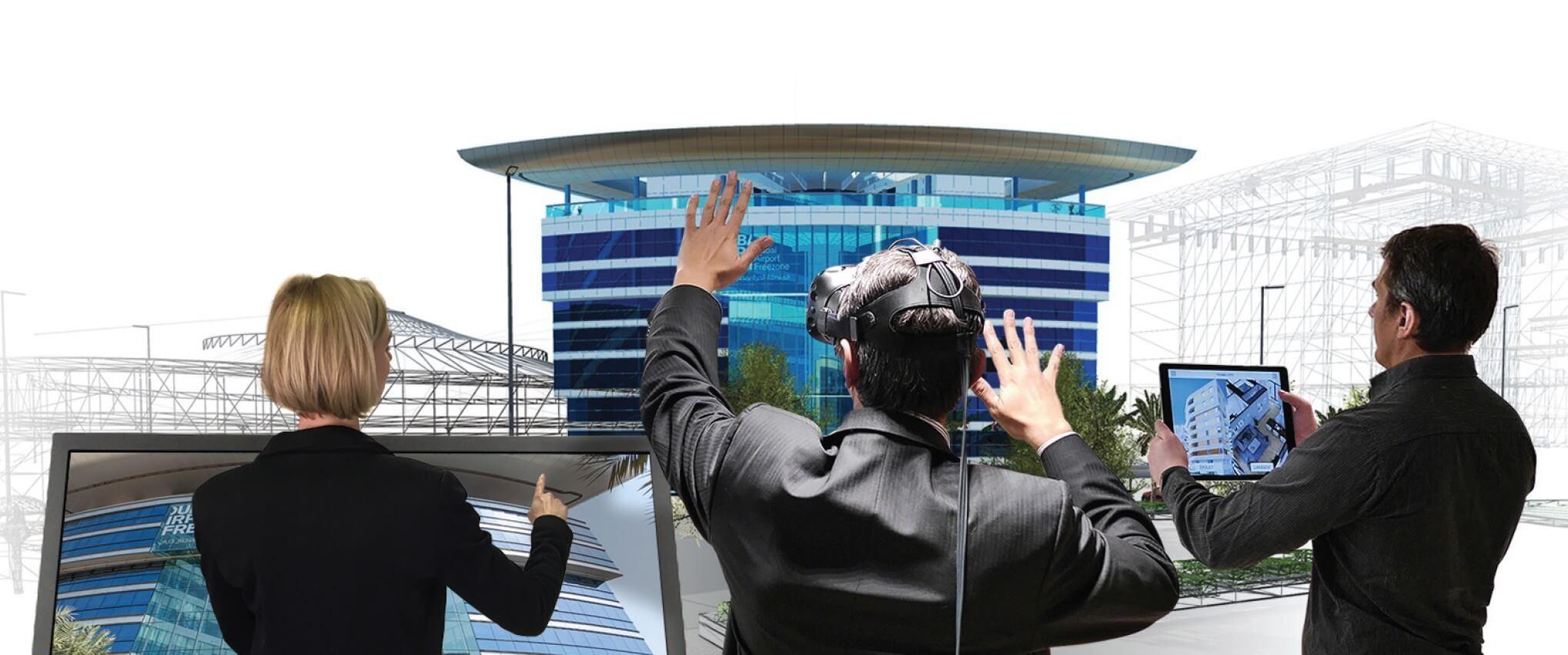 Magyar fejlesztéssel bolyonghatunk a jövő épületeiben