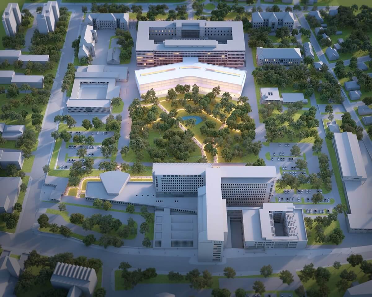 A ZÁÉV valósítja meg a Pécsi Egyetem új orvoskari épületét