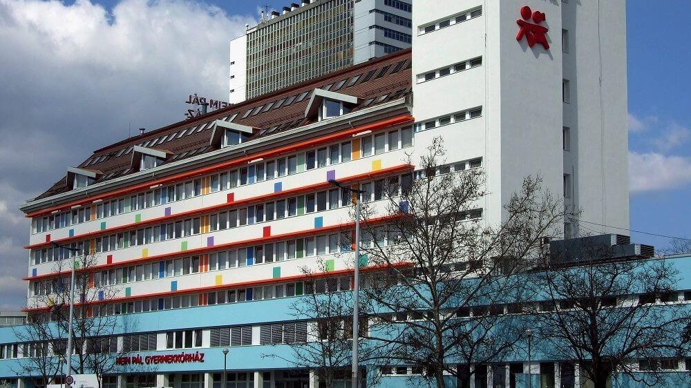 Új épülettel gazdagodik a fővárosi Heim Pál Gyermekkórház