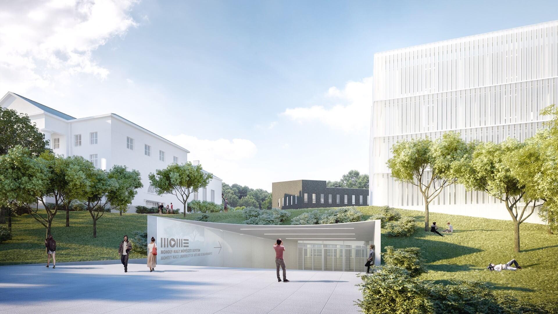 A Market fejezi be a MOME nagyszabású campusbővítését