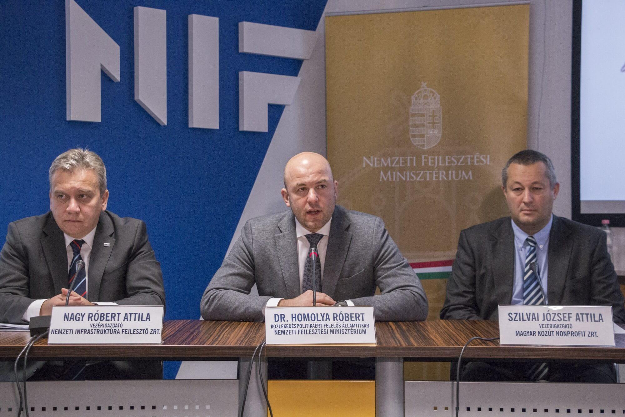 750 milliárd forintnyi útépítési szerződést köthet idén a NIF