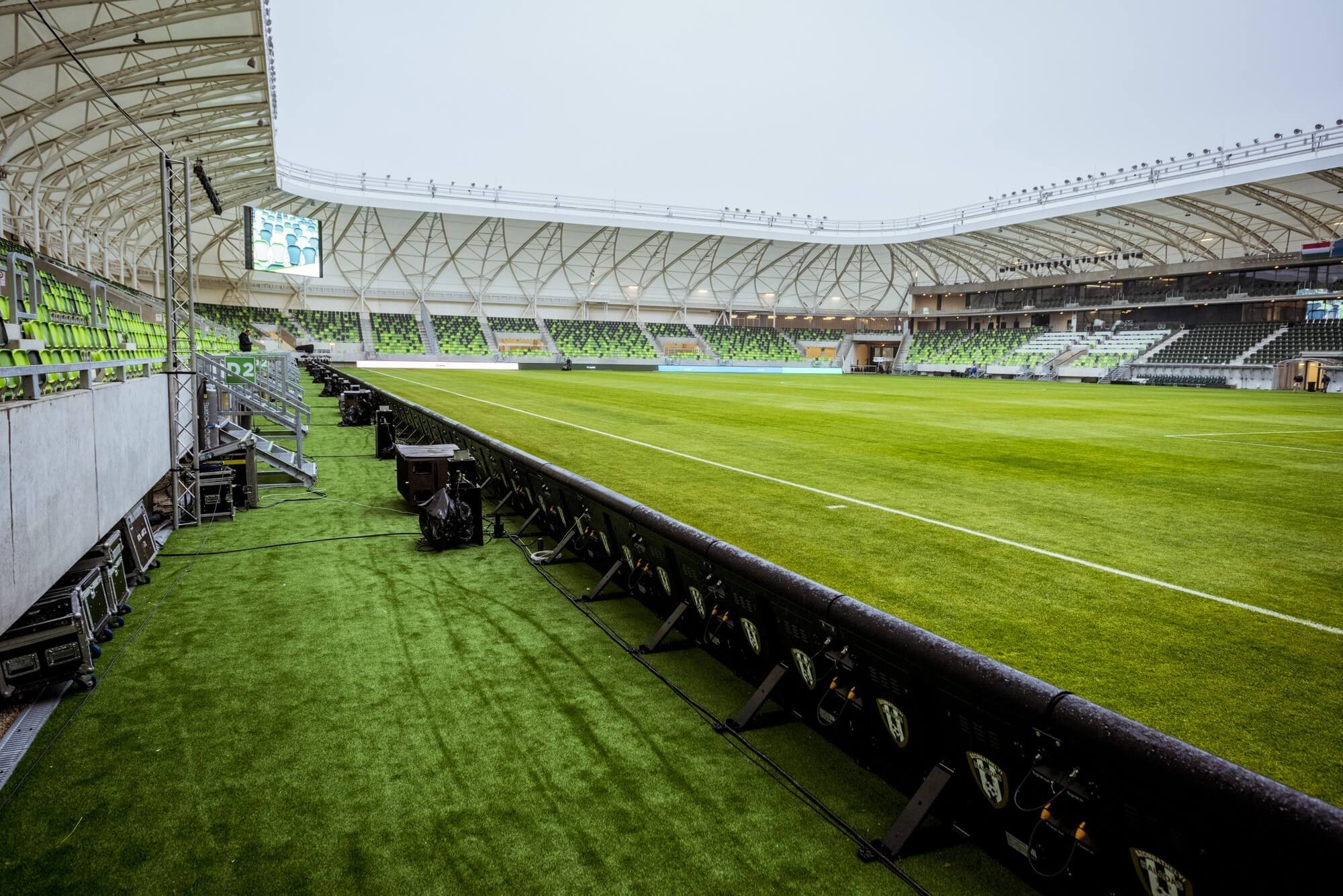 Brit elismerésben részesült Szombathely egyik legnagyobb sportberuházása