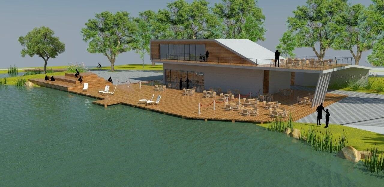 Folytatódik az érdi záportározó tó építése
