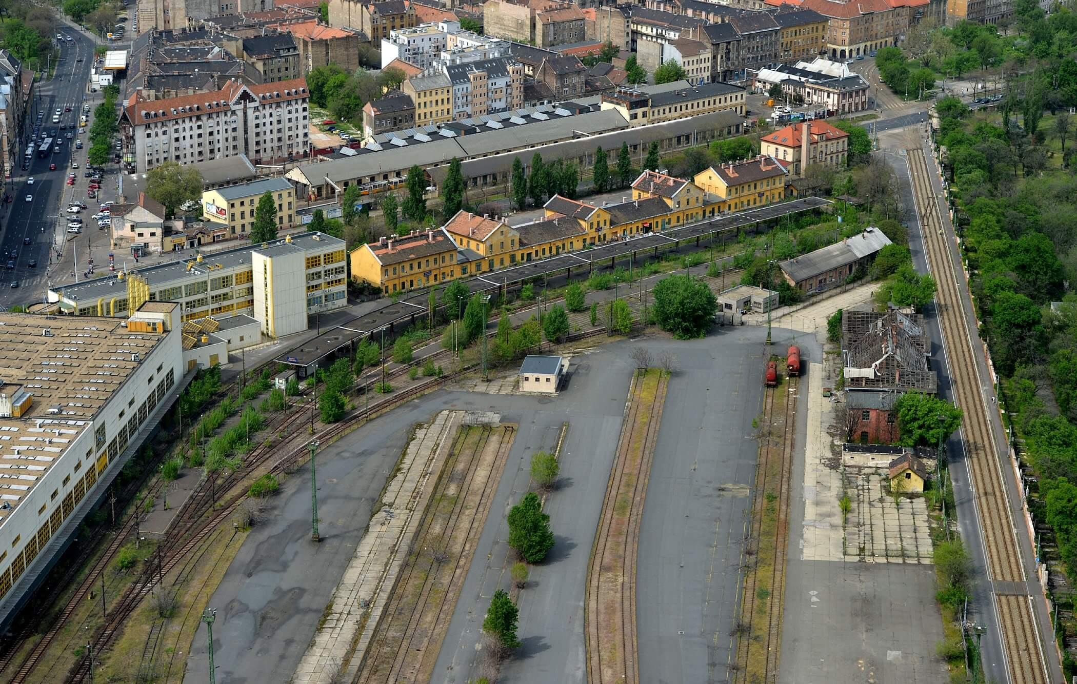 A régi józsefvárosi pályaudvaron épül új sportközpont
