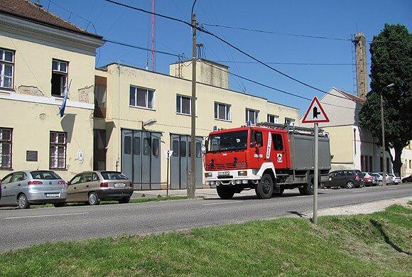 Felújítják a körmendi tűzoltók laktanyáját