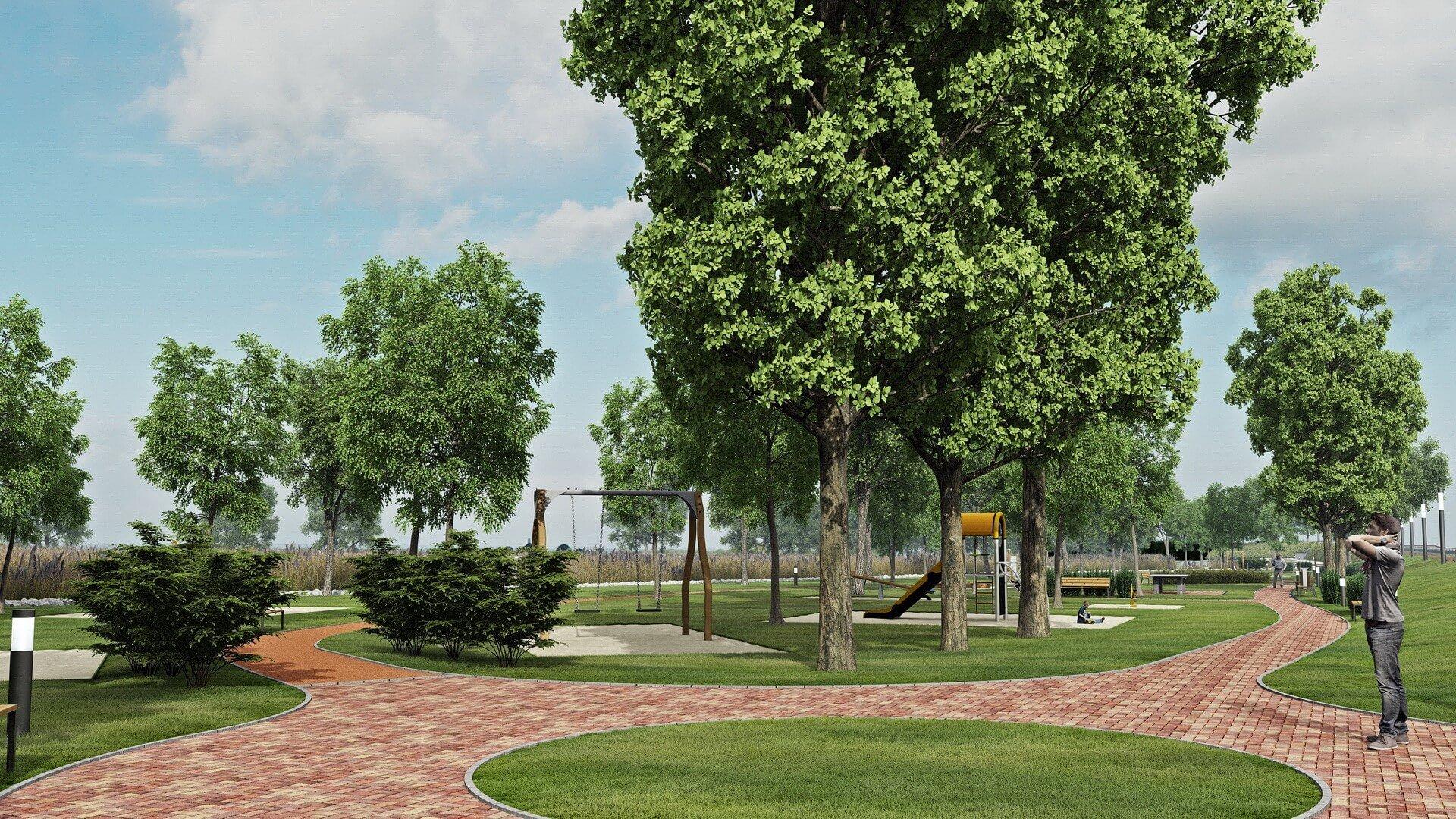 Zöld felület váltja a betont Szekszárd belvárosában