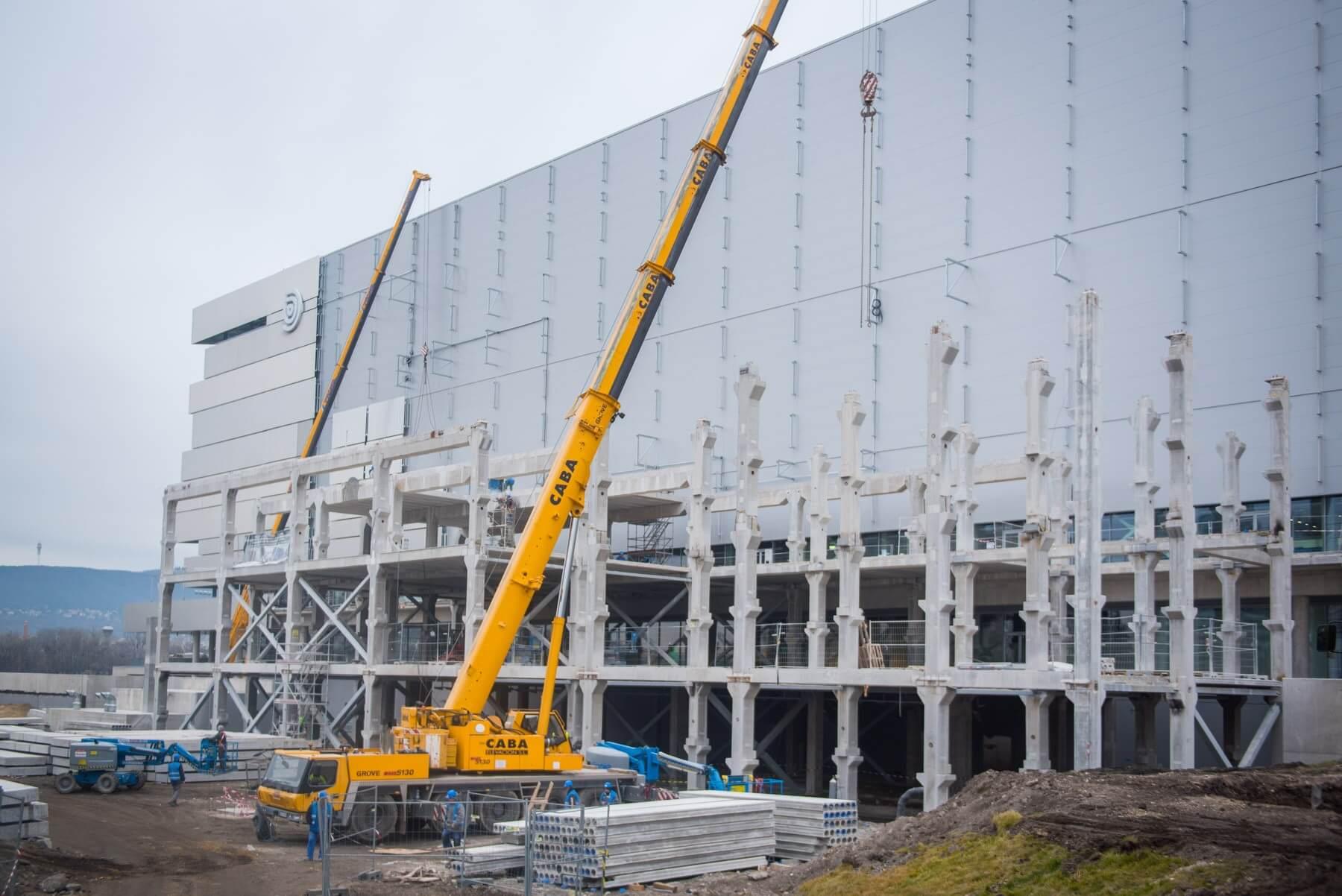 A Duna Aréna a minta a párizsi olimpiai uszoda felépítéséhez