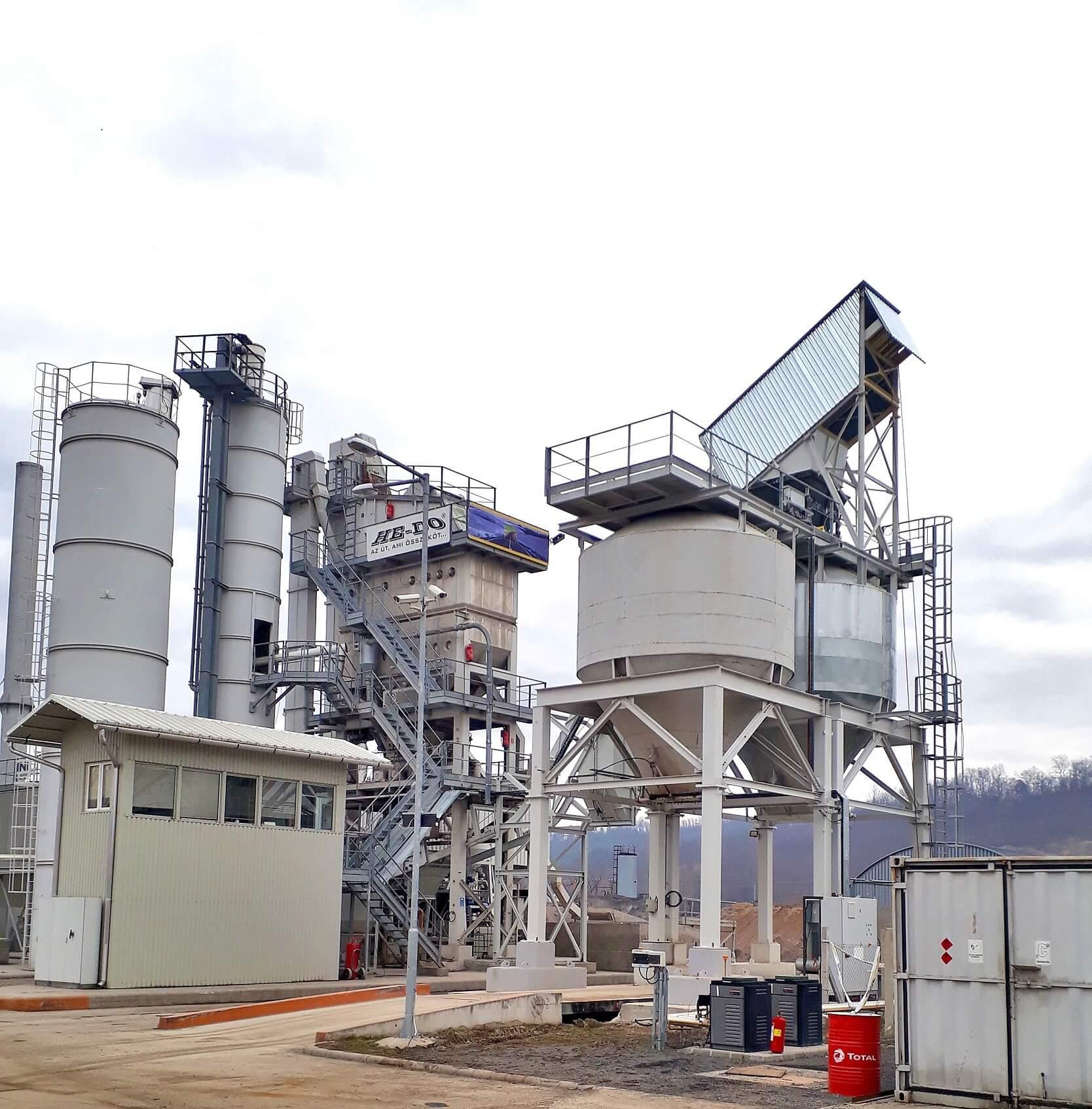 Modern eszközökkel növeli aszfaltgyártási kapacitását a HE-DO