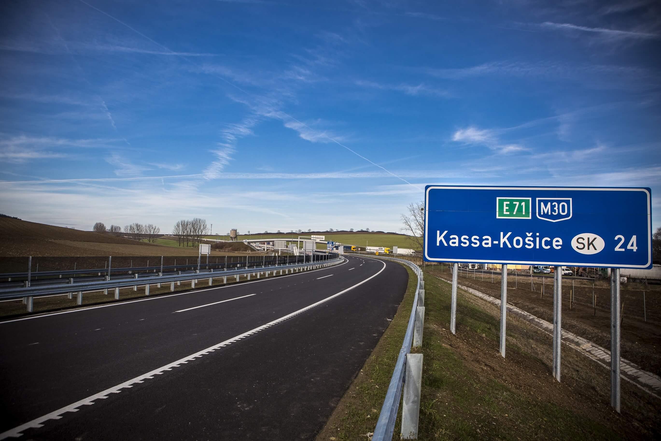M30: megvannak a Miskolc-Tornyosnémeti szakasz kivitelezői