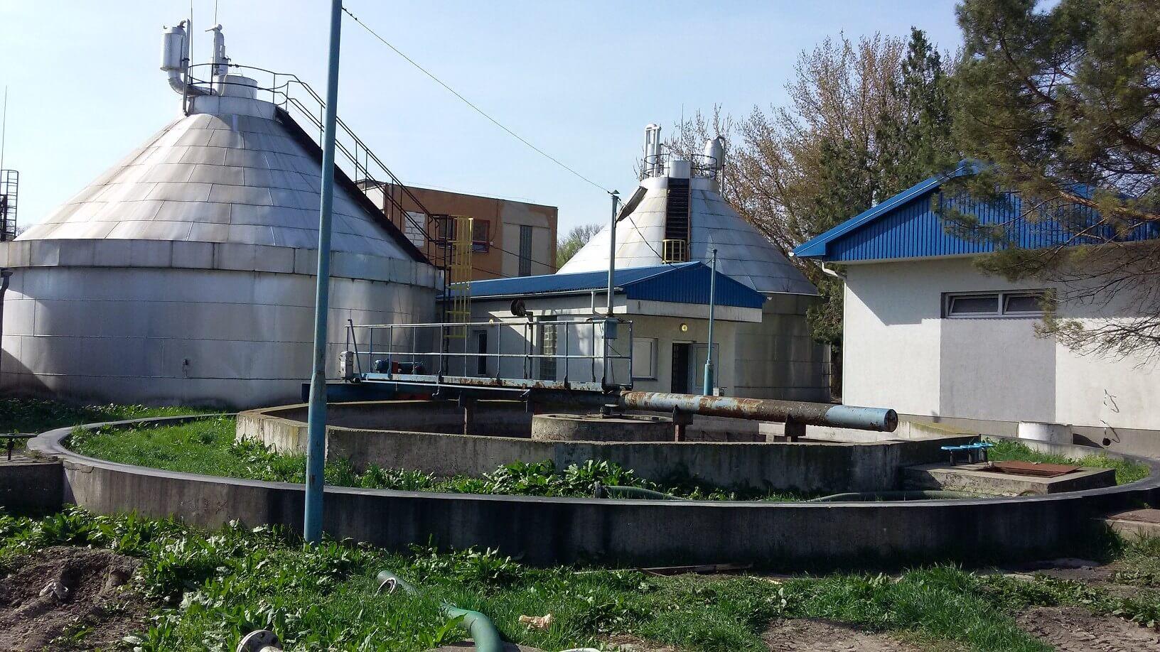 Tetemes fejlesztés indul Szentendre szennyvíztelepén