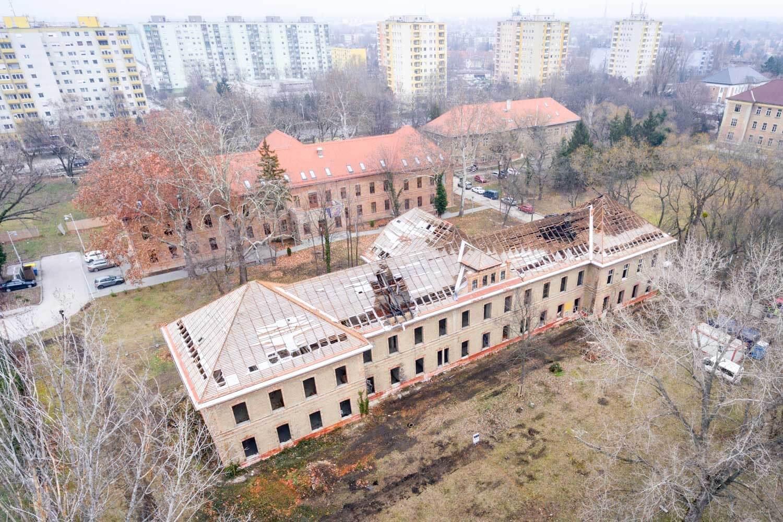 Az Épkar és a Laterex fejleszti csúcsszínvonalra a Corvinus campusát