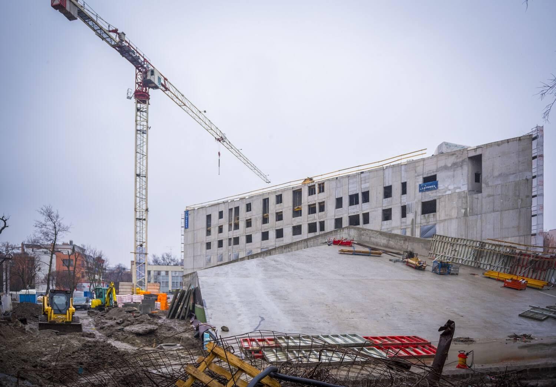 Elérte legmagasabb pontját Angyalföld új szolgáltatóháza