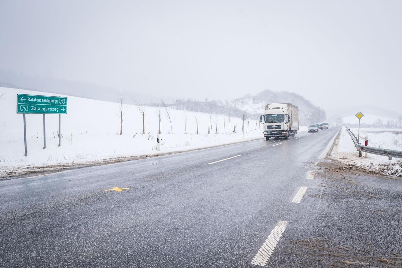 Elrajtolt a Zalaegerszeget bekötő gyorsforgalmi útfejlesztés