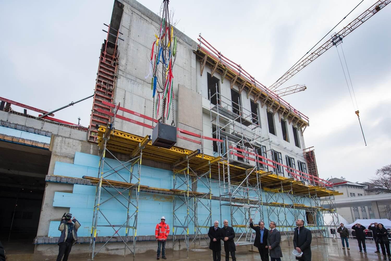 Még idén átadják a 30 ezer négyzetméteres restaurálási központot