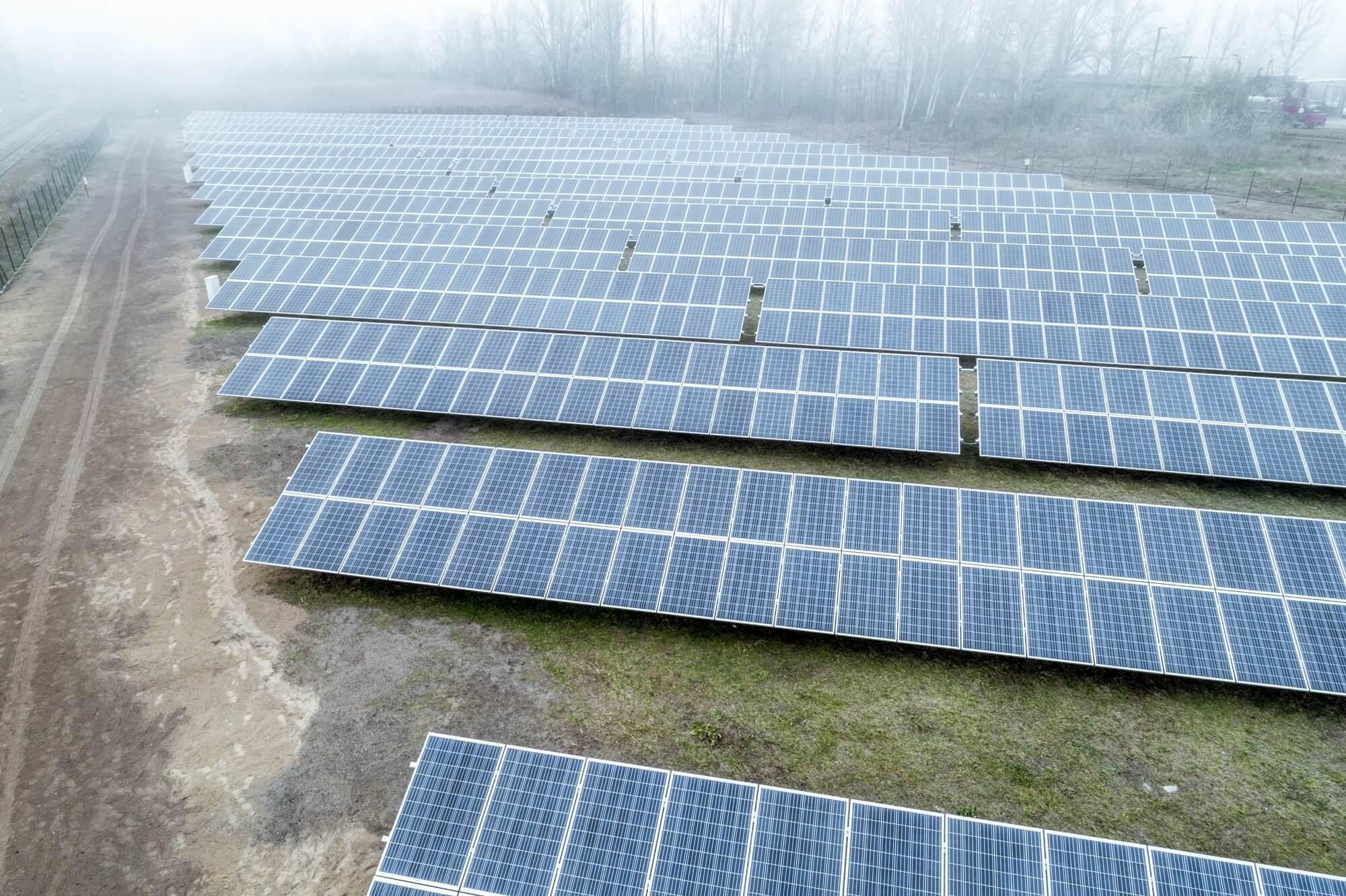 Magyarország legnagyobb naperőműve épül Felsőzsolcán