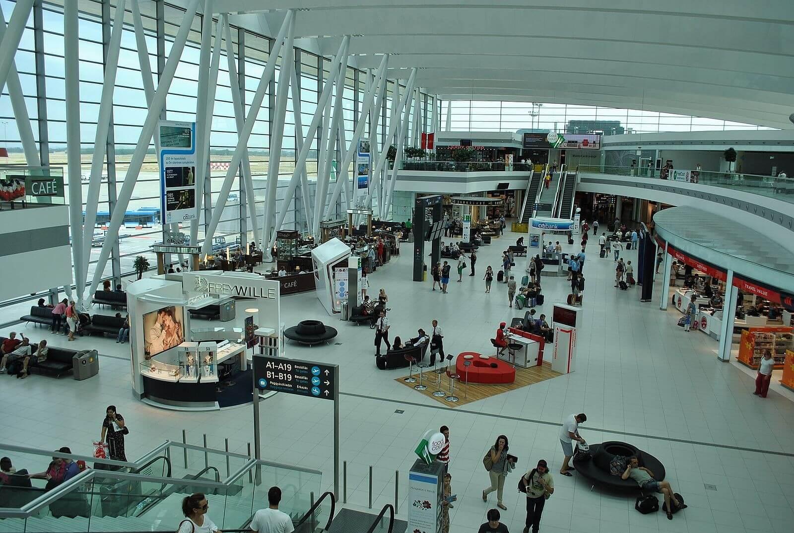 Megújul a ferihegyi 2A terminál