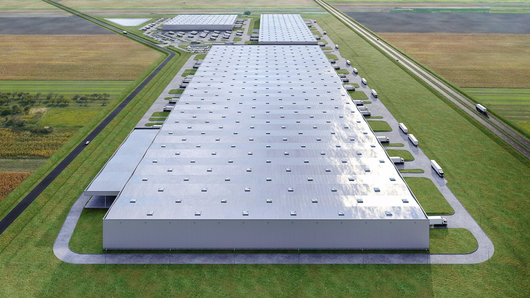 Magyarország legnagyobb logisztikai központja épül Üllőn