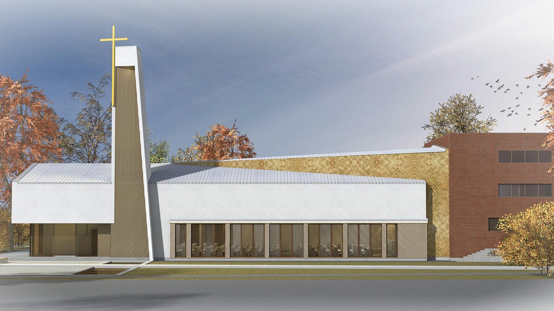 Bezárt kollégiumából épít templomot Hódmezővásárhely