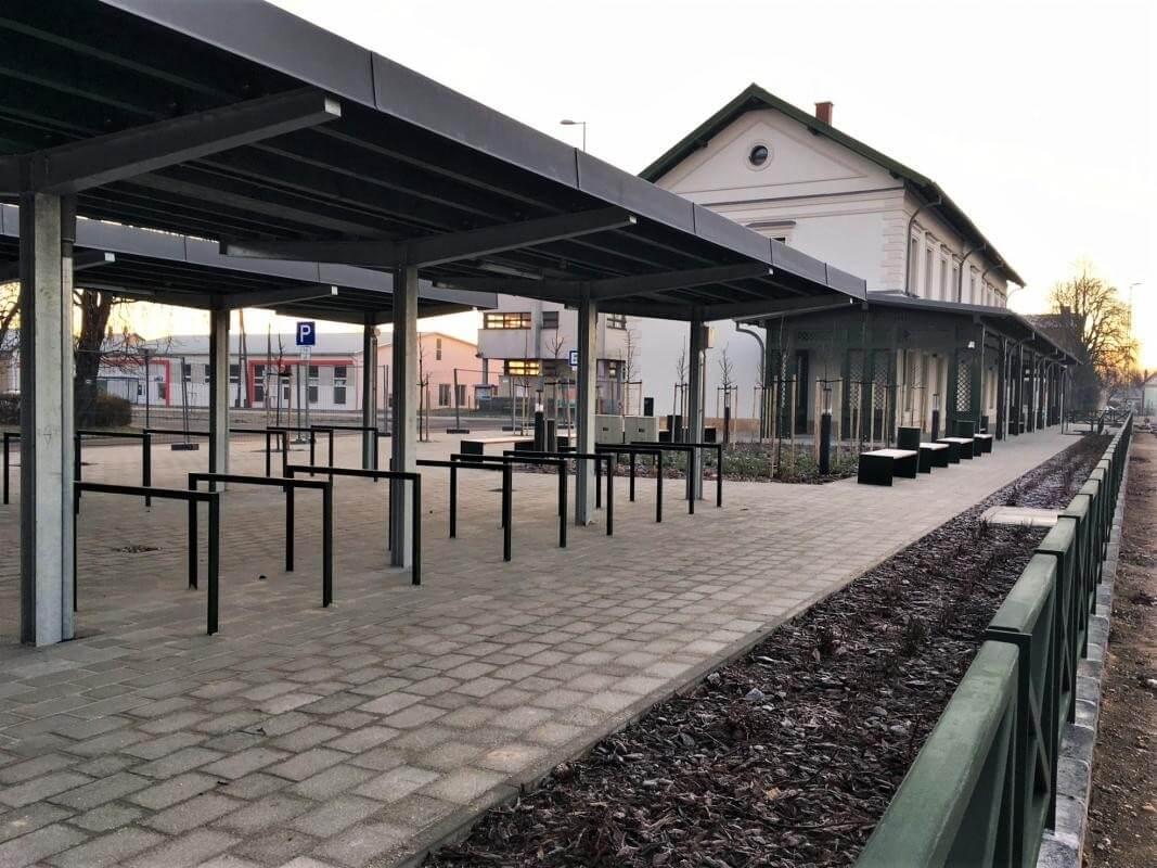 Restaurálták Tapolca mintegy 100 éves vasútállomását