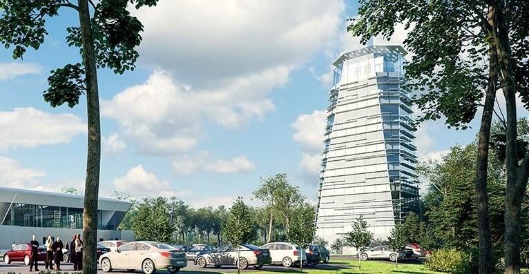Nyolcszintes épület kivitelezésével folytatódik a zalai tesztpálya projektje
