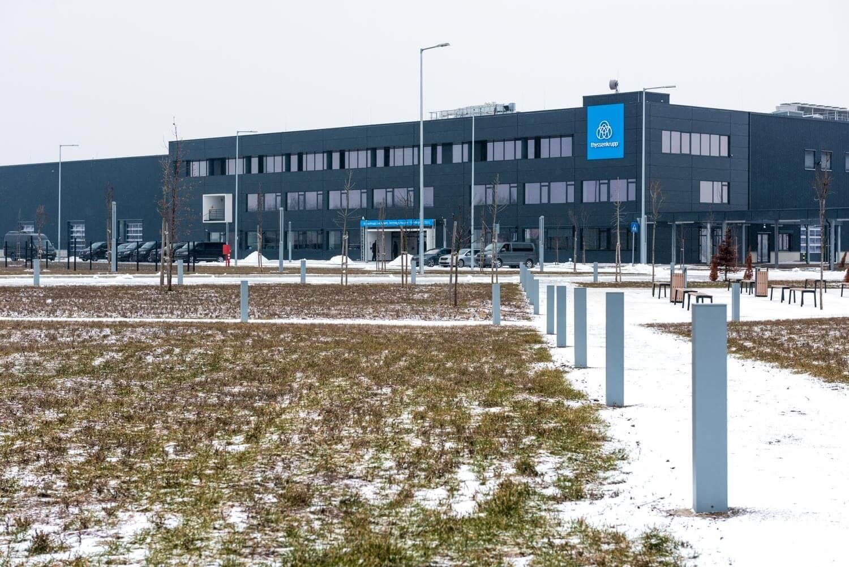 Átadták a Thyssenkrupp 33 milliárd forintos beruházását Jászfényszarun