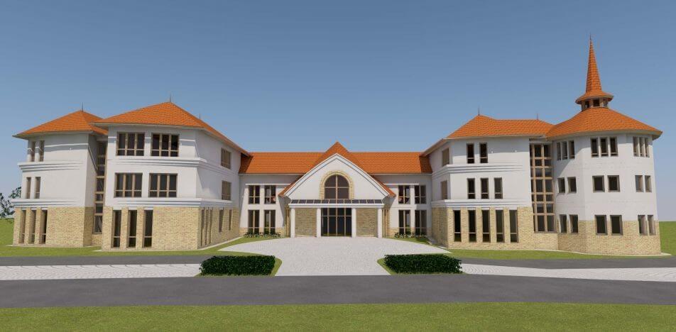 A ZÁÉV és Laterex építi Veresegyház 5 ezer négyzetméteres új gimnáziumát