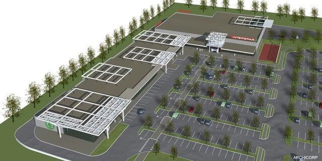 Hatalmas bevásárlóközpontot épít Tatán a Spar