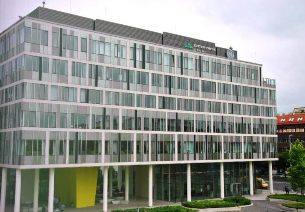 Környezetbarát irodaházat adtak át a Váci úton