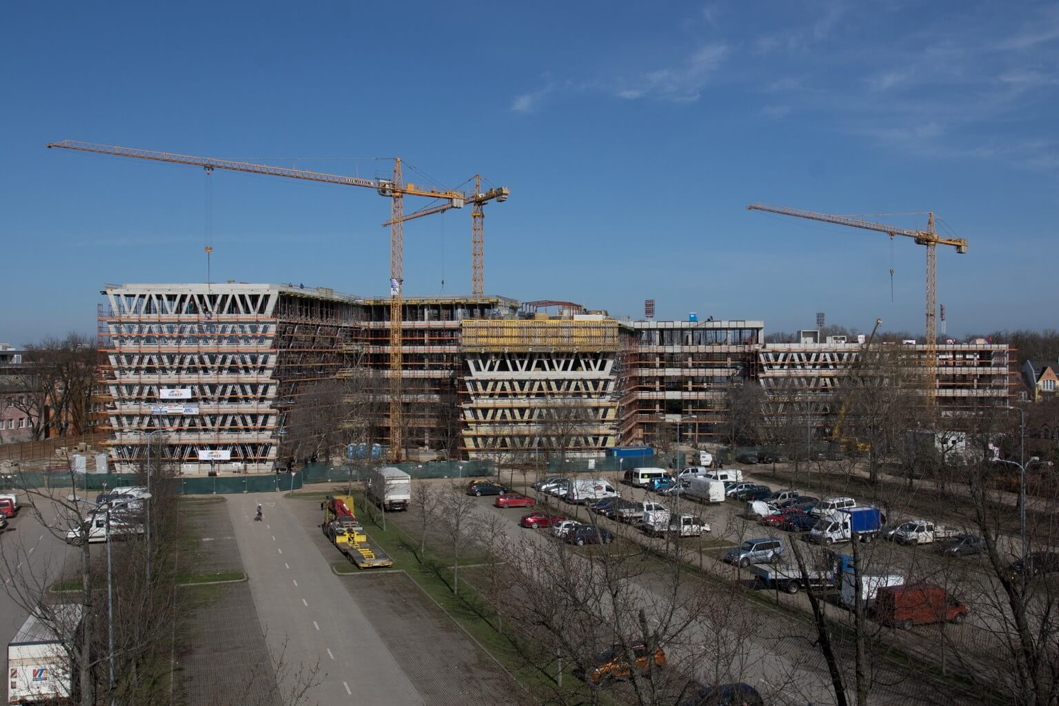 Őszre elkészül Debrecen legmodernebb irodaháza