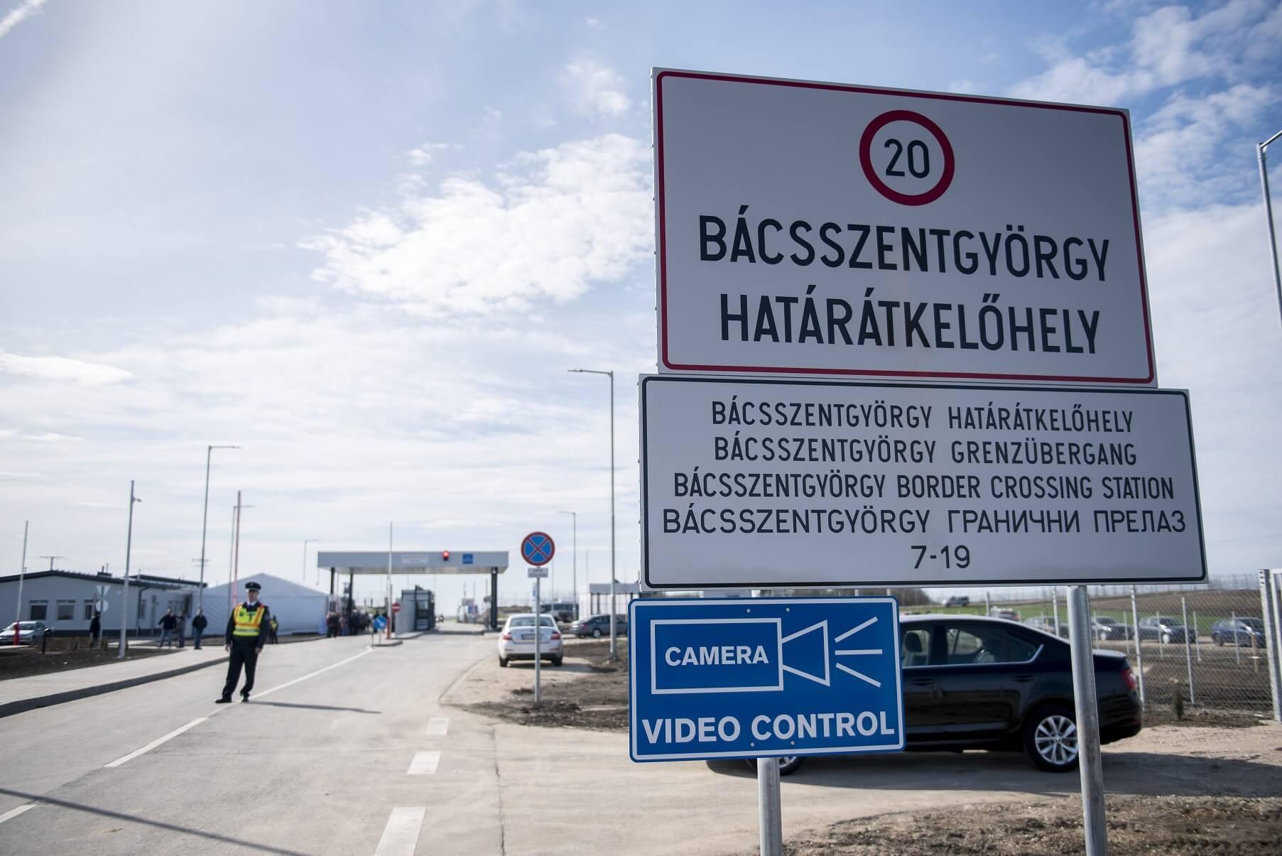 Újabb helyen lehet átkelni Magyarország és Szerbia között